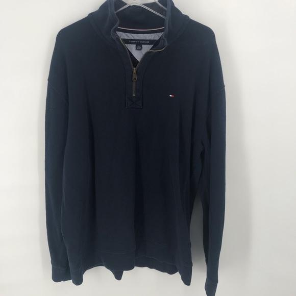 Tommy Hilfiger Other - Blue Tommy Hilfiger 1/2 Zip Pullover Mens Size XXL